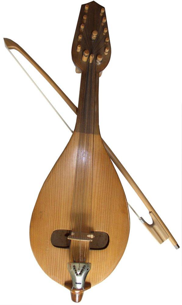 Cretan Lyra - Folk - Traditional Musical Instruments - Folkway